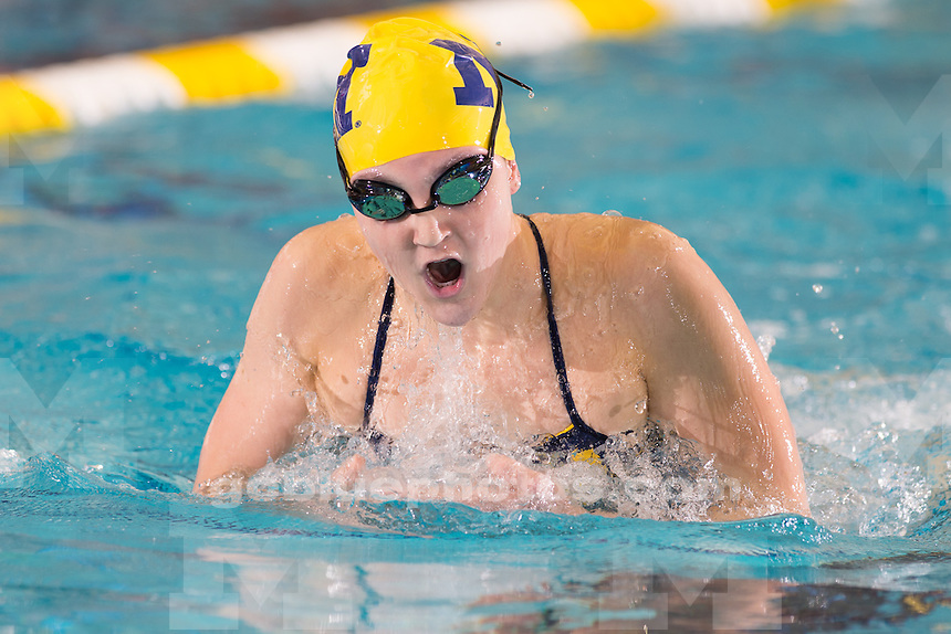 10/25/14  The University of Michigan women's swimming and diving team; Day 2 of the Big Quad Meet at Canham Natatorium in Ann Arbor, Mich., on October 25, 2014.