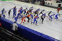 SCHAATSEN: HEERENVEEN: 04-02-2017, KPN NK Junioren, Junioren A Heren Mass Start, ©foto Martin de Jong