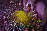 Dyed in colours-HOLI