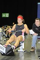 Birmingham, Great Britain, Women's J16  Rosa ATKINSON, Runcorn, at the 2008 British Indoor Rowing Championships, National Indoor Arena. on  Sunday 26.10.2008 . [Photo, Peter Spurrier/Intersport-images] .