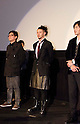 December, 19th : Tokyo, Japan &ndash; (L-R) Je-Kyu Kang, Joe Odagiri, and Jang Dong-gun appear at a press conference for the film &ldquo;MY WAY&rdquo; in the Shinjuku WALD9 CINEMA. This story is based on a true story during the World War . This film will be released from January 14th. (Photo by Yumeto Yamazaki/AFLO).