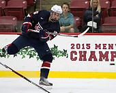 Grant Mismash (NTDP - 16) - The Harvard University Crimson defeated the US National Team Development Program's Under-18 team 5-2 on Saturday, October 8, 2016, at the Bright-Landry Hockey Center in Boston, Massachusetts.