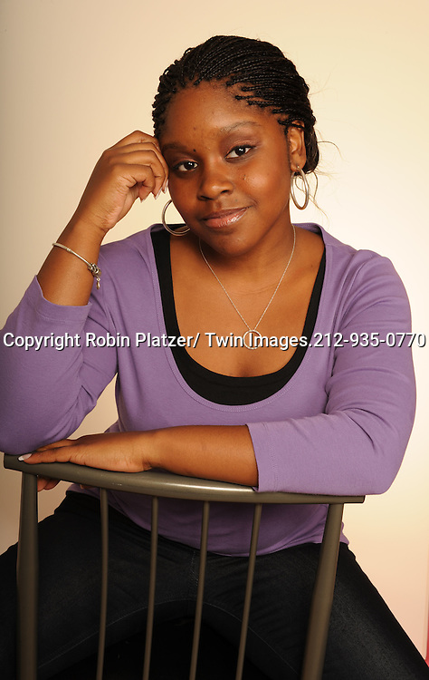 "Shenell Edmonds of ""One Life to Live "" photographed in a studio on September 20, 2010 in New York City. .Photo by Robin Platzer/ Twin Images"
