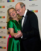 James Taylor and his wife, Caroline &quot;Kim&quot; Taylor dance on the red carpet as they arrive for the formal Artist's Dinner honoring the recipients of the 39th Annual Kennedy Center Honors hosted by United States Secretary of State John F. Kerry at the U.S. Department of State in Washington, D.C. on Saturday, December 3, 2016. The 2016 honorees are: Argentine pianist Martha Argerich; rock band the Eagles; screen and stage actor Al Pacino; gospel and blues singer Mavis Staples; and musician James Taylor.<br /> Credit: Ron Sachs / Pool via CNP