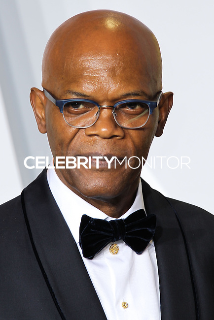 HOLLYWOOD, LOS ANGELES, CA, USA - MARCH 02: Samuel L. Jackson at the 86th Annual Academy Awards - Press Room held at Dolby Theatre on March 2, 2014 in Hollywood, Los Angeles, California, United States. (Photo by Xavier Collin/Celebrity Monitor)