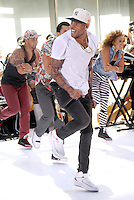 Chris Brown performs 0n NBC's Today Show Toyota Concert Series in New York City. June 8, 2012. © RW/MediaPunch Inc.