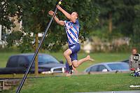 FIERLJEPPEN: IJLST: 23-07-2016, winnaar  Nard Brandsma met 20.84m, ©foto Martin de Jong