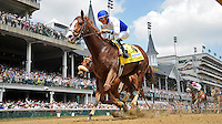 Shackleford, jockey Jesus Castanon up, wins the Churchill Downs Stakes on Kentucky Derby Day at Churchill Downs in Louisville, Kentucky on May 5, 2012.