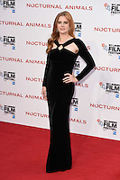 LONDON, UK. October 14, 2016: Amy Adams at the London Film Festival 2016 premiere of &quot;Nocturnal Animals&quot; at the Odeon Leicester Square, London.<br /> Picture: Steve Vas/Featureflash/SilverHub 0208 004 5359/ 07711 972644 Editors@silverhubmedia.com