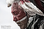A photo of a native american elder.