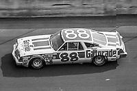 Darrell Waltrip, #88 Oldsmobile, 1979 Firecracker 400 NASCAR race, Daytona International Speedway, Daytona Beach, FL, July 4, 1979.  (Photo by Brian Cleary/ www.bcpix.com )