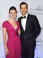 NEW YORK, NY - OCTOBER 24: Tiler Peck and Robert Fairchild  attends the 2016 Princess Grace Awards Gala at Cipriani Broadway on October 24, 2016 in New York City. Photo by John Palmer/MediaPunch