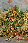 Mcc0028781 . Daily Telegraph..Travel..Bel Puri..Mumbai street food..Mumbai January 2011.