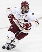 Chris Calnan (BC - 11) - The Boston College Eagles defeated the visiting Colorado College Tigers 4-1 on Friday, October 21, 2016, at Kelley Rink in Conte Forum in Chestnut Hill, Massachusetts.The Boston College Eagles defeated the visiting Colorado College Tiger 4-1 on Friday, October 21, 2016, at Kelley Rink in Conte Forum in Chestnut Hill, Massachusett.