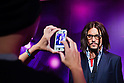 Oct. 4, 2011 - Tokyo, Japan - A Japanese visitor takes a photo of the wax figure of Johnny Depp at the Madame Tussauds museum exhibit. The world's 13th Madame Tussauds museum showcases 19 wax figures of  celebrity musicians and movie stars. (Photo by Christopher Jue/AFLO)