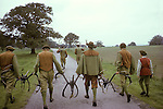 Abbots Bromley Horn dance. Staffordshire. UK. September