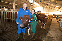 Milk production. Melkeprodusenter i Selbu.