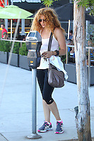 Rachelle Lefevre goes to the gym - Los Angeles