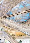 IFC shopping mall modern interior details in Shanghai, China 2014