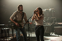 A Star Is Born (2018)  <br /> Bradley Cooper &amp; Lady Gaga (Stefani Germanotta)<br /> *Filmstill - Editorial Use Only*<br /> CAP/KFS<br /> Image supplied by Capital Pictures