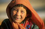 A refugee girl from Afghanistan who lives in Quetta, Pakistan..