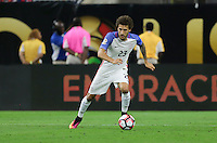 Houston, TX - June 21, 2016: The U.S. Men's National team loose to Argentina 0-4 in Semifinal play at the 2016 Copa America Centenario at NRG Stadium.