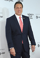 NEW YORK, NY - APRIL 19: New York Governor Andrew Cuomo attends  'Clive Davis: The Soundtrack of Our Lives' 2017 Opening Gala of the Tribeca Film Festival at Radio City Music Hall on April 19, 2017 in New York City. <br /> CAP/MPI/JP<br /> &copy;JP/MPI/Capital Pictures