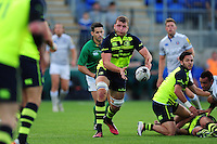 Pre-season friendly match, between Leinster Rugby and Bath Rugby on August 26, 2016 at Donnybrook Stadium in Dublin, Republic of Ireland. Photo by: Patrick Khachfe / Onside Images