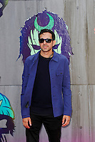 LONDON, ENGLAND - AUGUST 3: Dynamo(Steven Frayne) attending the 'Suicide Squad' European Premiere at Odeon Cinema, Leicester Square on August 3, 2016 in London, England.<br /> CAP/MAR<br /> &copy;MAR/Capital Pictures /MediaPunch ***NORTH AND SOUTH AMERICAS ONLY***
