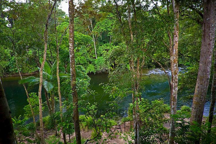 Mossman River in the Daintree Rainforest, Far North Queensland, Australia