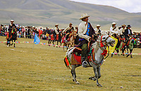 Tibet&rsquo;s province of Nakchu in Tibet hosts many festivals throughout the year, but one stands out more than any other; it is the highest horse racing festival in the world &ndash; a spectacle of colour, festivities and endurance for participants and visitors alike.<br />