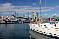 Dockland Melbourne cityscape..For larger JPEGs and TIFF Contact EFFECTIVE WORKING IMAGE via our contact page at : www.photography4business.com