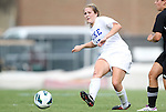 24 August 2012: Duke's Maddy Haller. The Duke University Blue Devils defeated the University of Montreal Caribins 4-1 at Fetzer Field in Chapel Hill, North Carolina in an international women's collegiate friendly game.