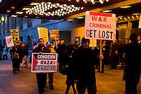 Free Gaza Rally Chicago Illinois 10-29-12