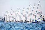 ISAF Sailing World Cup Hyères - Fédération Française de Voile. Laser.