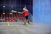 28.1.13 Manchester Squash Sport City.  School Children take part in squash sessions