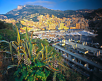 Kingdom of Monaco, Surrounded by French Cote d'Azur, Mediterranean Sea & Corniches