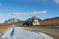 James Dalton highway, Brooks range, Arctic, Alaska.
