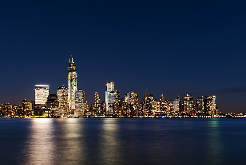 World Trade Center &amp; Lower Manhattan<br /> From Jersey City