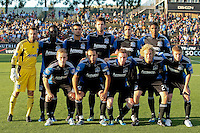 San Jose Earthquakes Starting Eleven. The San Jose Earthquakes tied the Vancouver Whitecaps 2-2 at Buck Shaw Stadium in Santa Clara, California on July 20th, 2011.