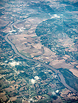 Booneville, Cooper, County, on the Missouri River above Jefferson City, Missouri, from a window seat above.