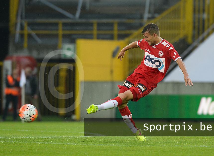 Club Brugge - KV Kortrijk : Lukas Van Eenoo<br /> Foto VDB / Bart Vandenbroucke