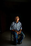 Tao Nguyen, owner of China Sea restaurant in the coastal town of Buras, Louisiana, poses for a portrait.  The BP spill has forced the Vietnamese immigrant to raise prices on his seafood plates.  Sincce the spill, Nguyen has lost some of his kitchen help to cleanup efforts.  He has also seen a decline in his regular clients because BP provides three meals each day to local cleanup workers.  ..Photographs of people impacted by the Deepwater Horizon Oil Spill.  The spill is estimated to be gushing 35,000 to 60,000 barells of oil into the ocean per day.  Difficulties installing monitoring devices at the source have made this number difficult to clearly ascertain.  The spill is among the world's worst.