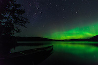 &quot;Aurora on Roland Lake&quot;<br />