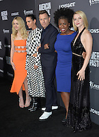 BEVERLY HILLS, CA. October 13, 2016: Dakota Fanning &amp; Jennifer Connelly &amp; Ewan McGregor &amp; Uzo Aduba &amp; Valorie Curry at the Los Angeles premiere of &quot;American Pastoral&quot; at The Academy's Samuel Goldwyn Theatre.<br /> Picture: Paul Smith/Featureflash/SilverHub 0208 004 5359/ 07711 972644 Editors@silverhubmedia.com