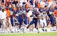 Virginia lost to TCU 30-14 at Scott Stadium September 12, 2009 in Charlottesville, VA. Photo/Andrew Shurtleff