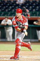 Yasmani Grandal - 2010 AZL Reds.Photo by:  Bill Mitchell/Four Seam Images..
