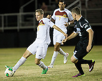 The Winthrop University Eagles beat the UNC Asheville Bulldogs 4-0 to clinch a spot in the Big South Championship tournament.  Max Hasenstab (18)