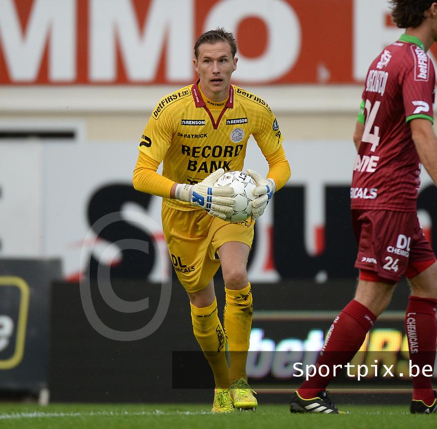 SV Zulte Waregem  - KV Kortrijk  : Sammy Bossut<br /> foto VDB / BART VANDENBROUCKE