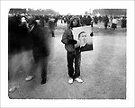 The Inauguration of Barack Obama.  Polaroid Series.  Images from Inauguration Day on the National Mall where Barack Obama was sworn in as the 44th President of the United States before the largest crowd ever gathered in the city.